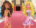 Barbie e suas amigas no shopping