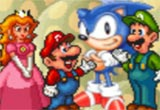 Sonic no Mundo do Super Mario