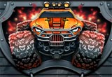 Monsters Wheels HD