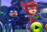 Jogo Pj Masks Find Objects
